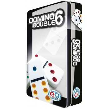 Domino con box in metallo EDITRICE GIOCHI GIOCHI DI SOCIETA'