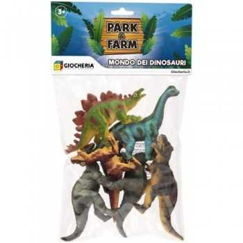 PARK&FARM - Busta 6 Dinosauri GIOCHERIA SPA BAMBINO