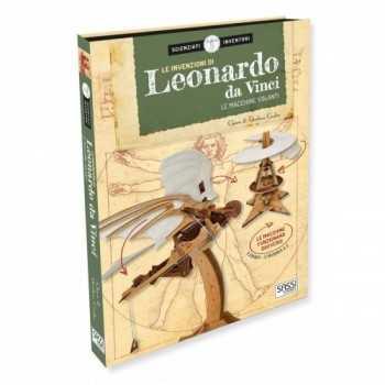 3D S&I - LE INVENZIONI DI LEONARDO DA VINCI. LE MACCHINE VOLANTI SASSI EDITORE LIBRI