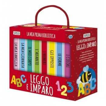 MY FIRST LIBRARY - LEGGO E IMPARO - N.E 2016 SASSI EDITORE LIBRI
